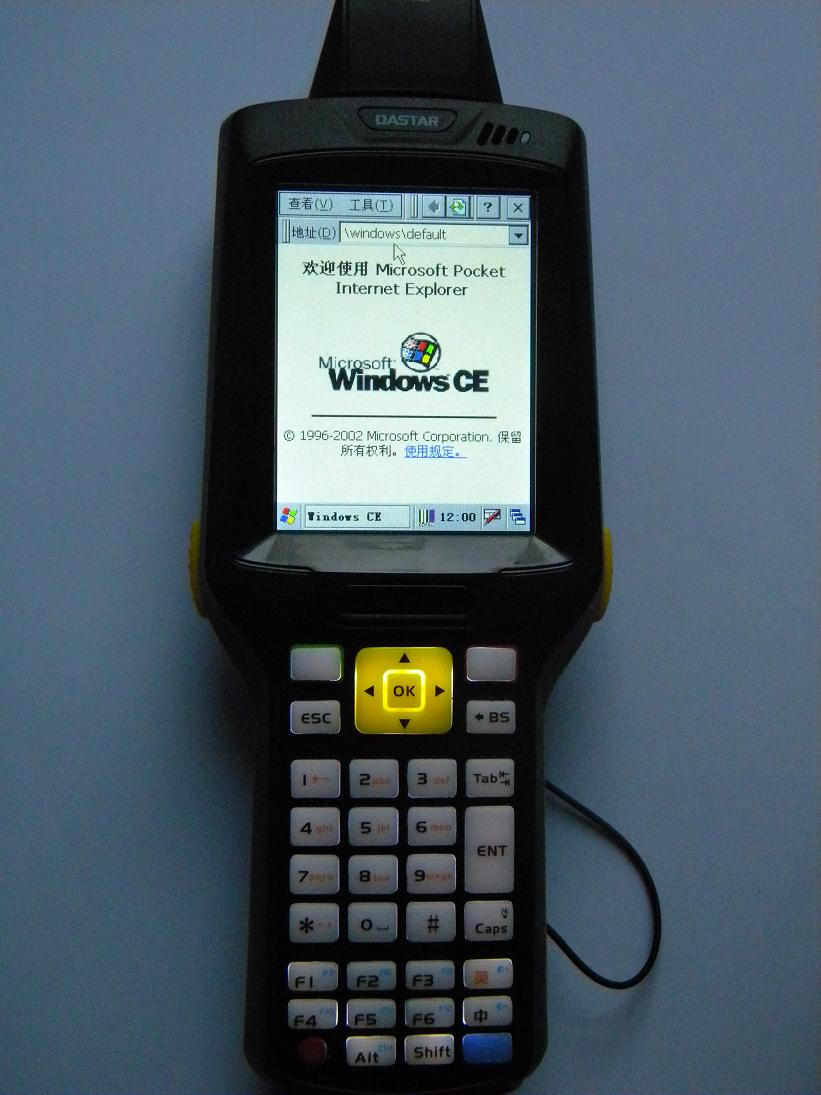 媲美Symbol MC3000 物联网手持终端机 支持Windows CE等功能