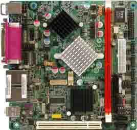 ECS 945GSE 嵌入式无风扇主板