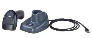 SD-9200无线二维扫描枪 超市收银快递仓库服装激光扫码枪巴枪 带储存