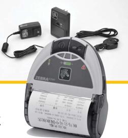 浙江供应热敏纸移动便携式EZ320斑马打印机