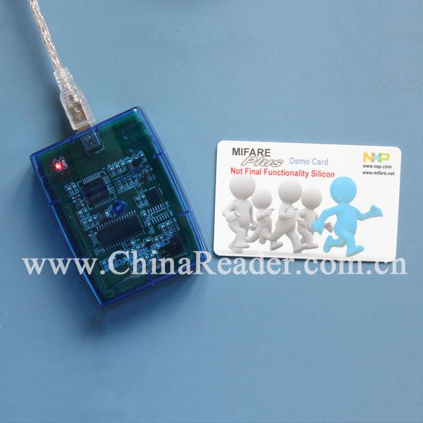 13.56M/Ntag读卡器/ICODE透明外壳读卡器