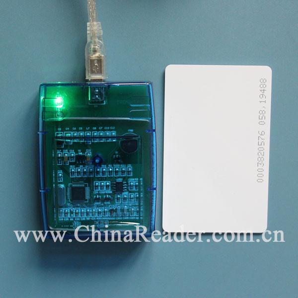 125K/ID读卡器/会员管理读卡器/透明外壳读卡器