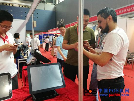 东莞收款机联盟在POS机展开展两天内签订十余万海外订单