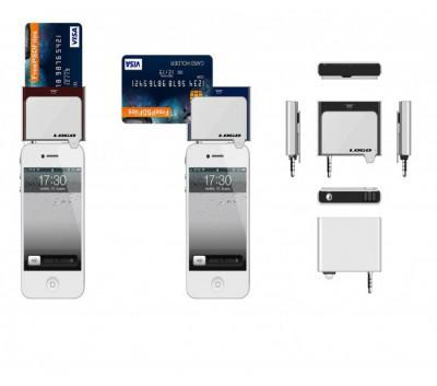 手机刷卡器外观设计+结构设计+抄数