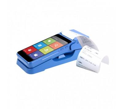 佳博A1智能手持标签打印机-内置刷卡器支持银联闪付