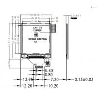 1.44寸a-Si TFT LCD液晶显示屏