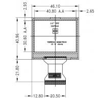 2.0寸a-Si TFT LCD液晶显示屏