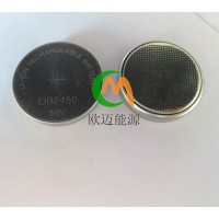 LIR2450-3.6V带焊脚可充电电池