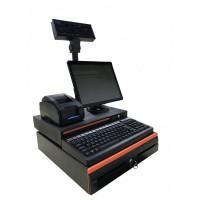 商超POS收款机收银系统键盘式一体机SIN-300II
