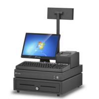 超市POS收款收银机键盘式SIN-6800单屏