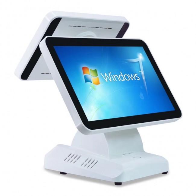 自助点餐系统触摸式收款机收银系统SIN-CM2000P单双屏